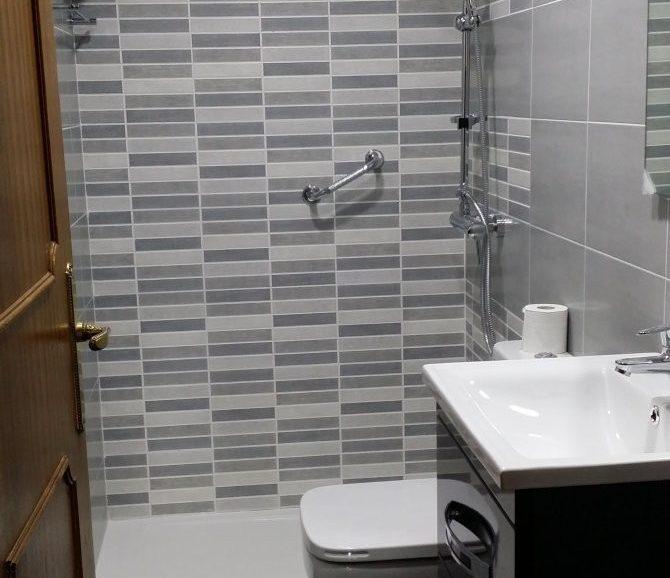 Reforma de baño de 4 metros cuadrados
