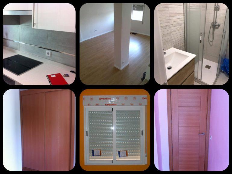 Reforma en Madrid de piso de 70 m²