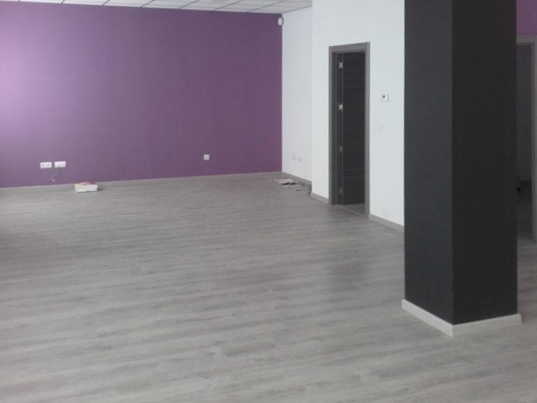 Poner tarima en un local de 56 metros cuadrados en Madrid