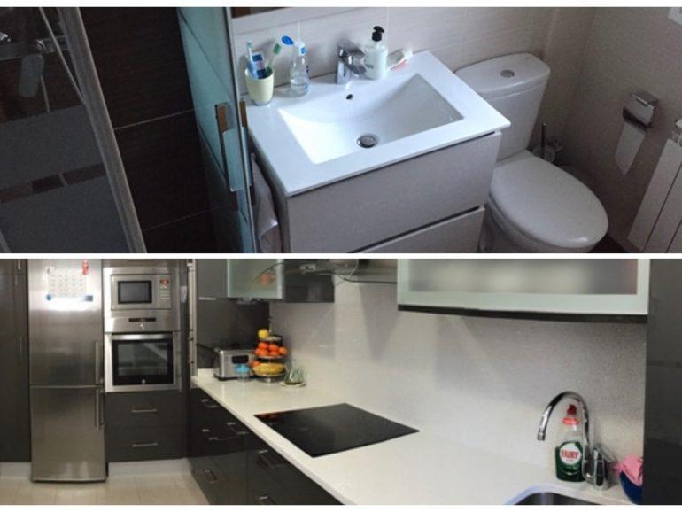 Reforma de cocina y baño en las Rozas de Madrid