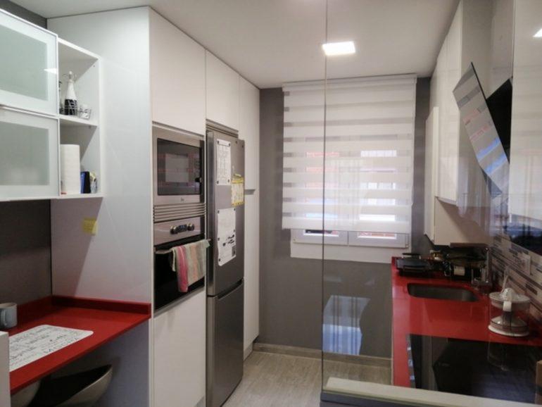Reforma de cocina y pasillo en Valdemoro