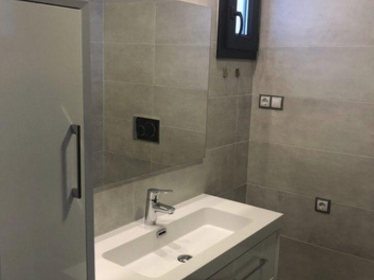 Reforma de baño de 5 m² en Madrid