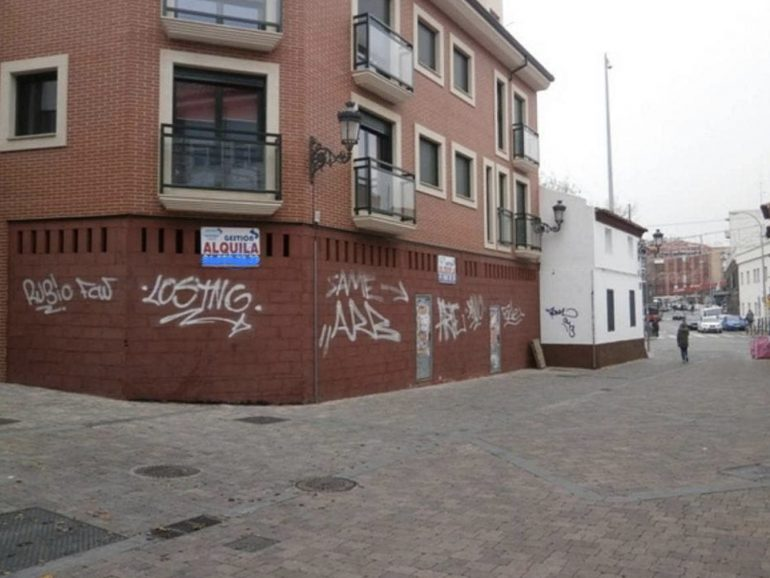 Reforma de un local comercial en Madrid