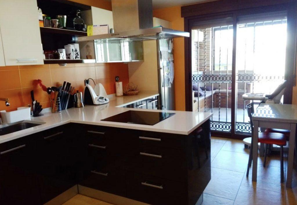 Rehabilitación de una cocina en Getafe