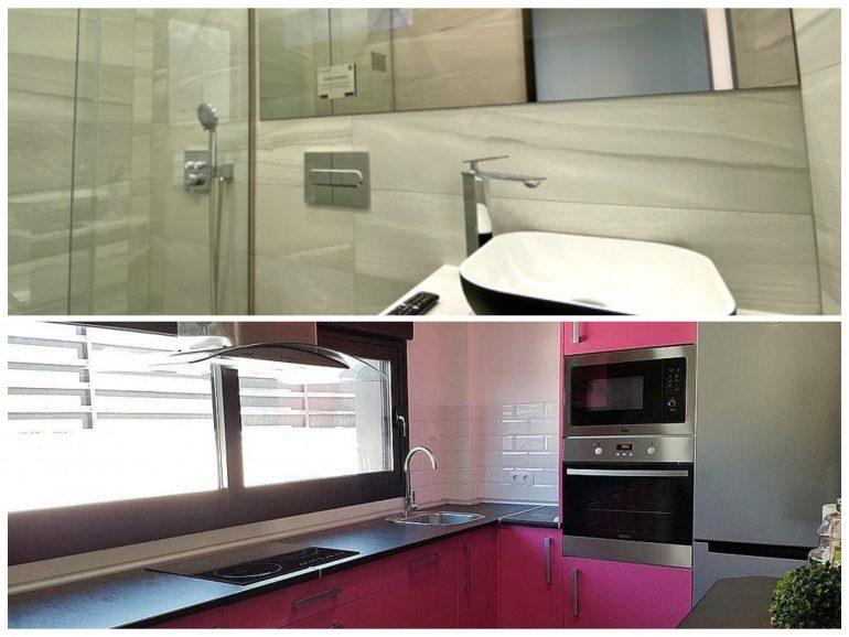 Reforma de baño y cocina en Getafe