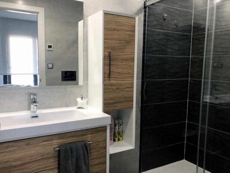 Reforma en baño de 5,2 m² en Madrid