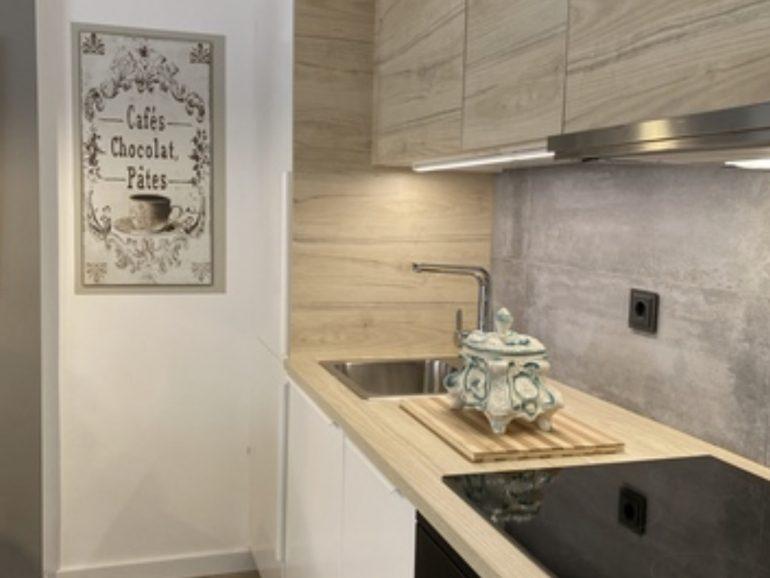 Reformas Madrid presupuesto cocina 17 m²