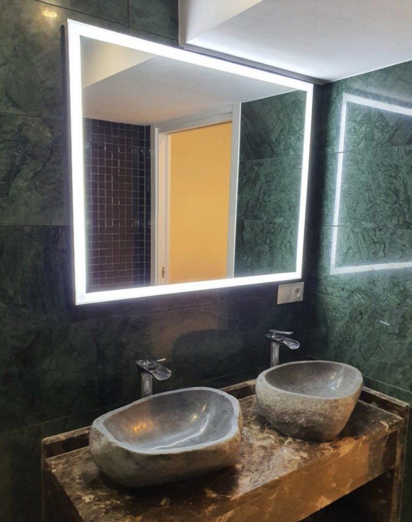 Baño de 3 metros cuadrados reforma completa Madrid