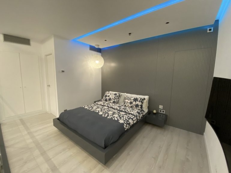 En Madrid reformas en una casa de 88 m²
