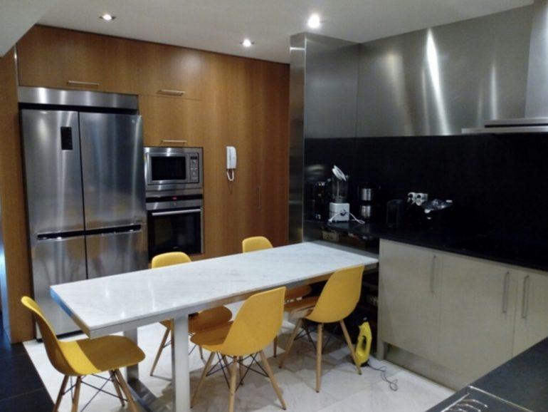 Obras en una casa de Leganés Madrid