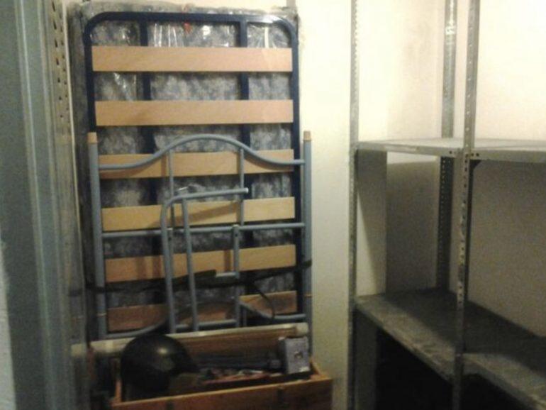 Alicatado y solado de trastero de 7,3 m² en Getafe