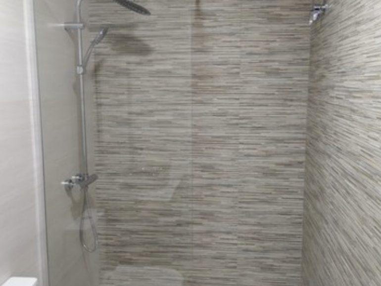 Construcción de un baño de 3,65 m² en Alcorcón